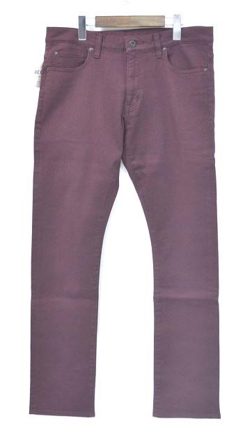 【新品】 O.C CREW (オーシークルー)ACE SLIM STRETCH PANTS エースストレッチスリムパンツ M BURGANDY