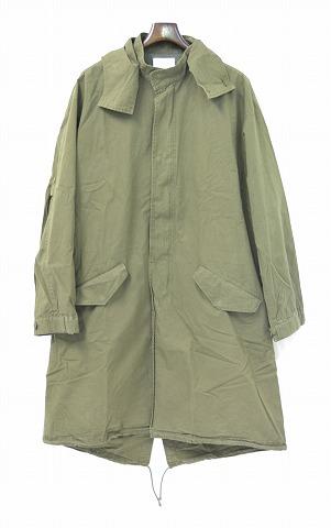 【新品】 Mr.GENTLEMAN (ミスタージェントルマン) MILITARY COAT ミリタリーコート フーデッド KHAKI S MG15F-OT02 モッズコート M-51 MODS COAT