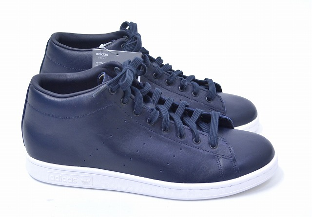 promo code 79848 4845c adidas Originals by HYKE (Adidas originals by hike) AOH001 HAILLET HI high  let NAVY US8.5 26.5cm navy STAN SMITH Stan Smith SNEAKERS sneakers ...