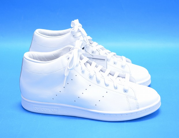 sports shoes 51fae b23e4 adidas Originals by HYKE (Adidas originals by hike) AOH001 HAILLET HI high  let WHITE US10.5 28.5cm white STAN SMITH Stan Smith SNEAKERS sneakers ...