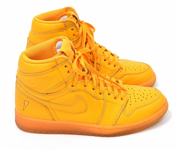 best service 68af7 6963b NIKE (Nike) AIR JORDAN 1 RETRO HI OG gatorade G8RD ORANGE PEEL Air Jordan 1  レトロハイゲータレイド 9 AJ5997-880 comment