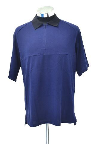 【新品】 juha (ユハ) DRY RAGLAN POLO SHIRT S/S NAVY ドライラグランポロシャツ 半袖 1