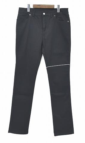 【新品】 SUB-AGE. (サベージ) LINE SKINNY PANTS ラインスキニーパンツ JEANS ジーンズ BLACK 3