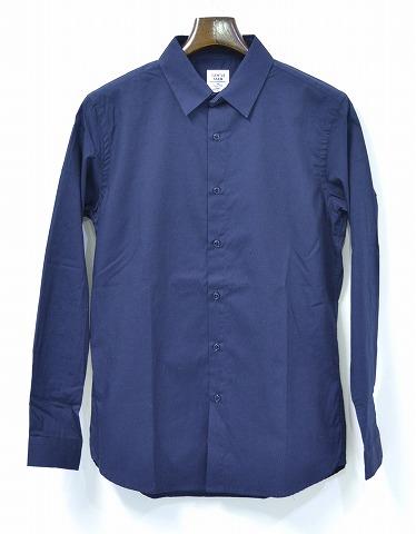 【新品】 Mr. GENTLEMAN (ミスタージェントルマン) COLORED BROADCLOTH SHIRTS カラー ブロードクロスシャツ NAVY S MGI14F-SH02 MADE IN JAPAN