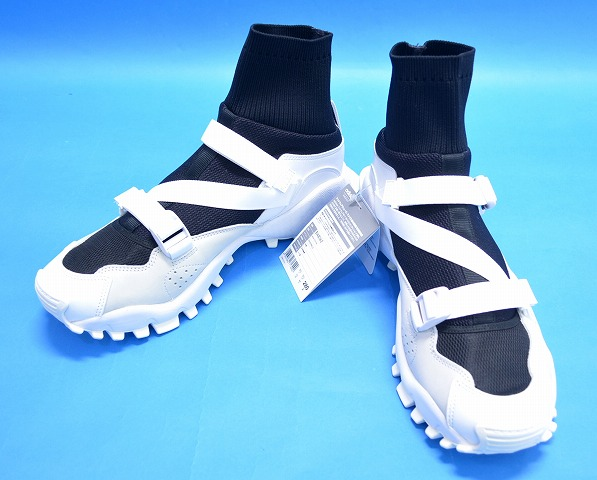 100% authentic 71bd3 a72db adidas Originals by HYKE (Adidas originals by hike) AOH010 HI SEEULATER  US9.5 27.5cm black and white SNEAKERS sneakers nostalgic collaboration  higher ...