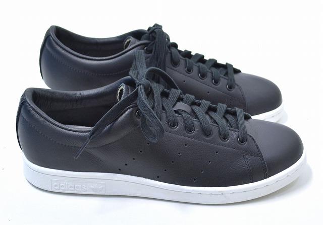 【新品】adidas Originals by HYKE (アディダス オリジナルス バイ ハイク) AOH001 HAILLET LO ハイレット BLACK US8.0 26.0cm ブラック STAN SMITH スタンスミス SNEAKERS スニーカー レトロ コラボレーション ローカット レトロ S82622 AOH-001