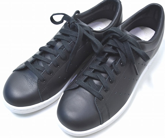 official photos be49d edcc1 adidas Originals by HYKE (Adidas originals by hike) AOH001 HAILLET LO high  let BLACK US8.0 26.0cm black STAN SMITH Stan Smith SNEAKERS sneakers ...