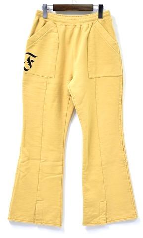 【新品】 FACETASM(ファセッタズム) F CUT OFF PANTS カットオフパンツ スウェットパンツ BEIGE 3 MADE IN JAPAN パンタロン