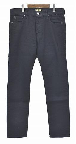 【新品】Finders Keepers (ファインダーズキーパーズ) FK-JUSTIN/SKINNY FIT PANTS ジャスティン スキニーフィットパンツ ストレッチ 5ポケットパンツ BLACK L 40611406 MADE IN JAPAN