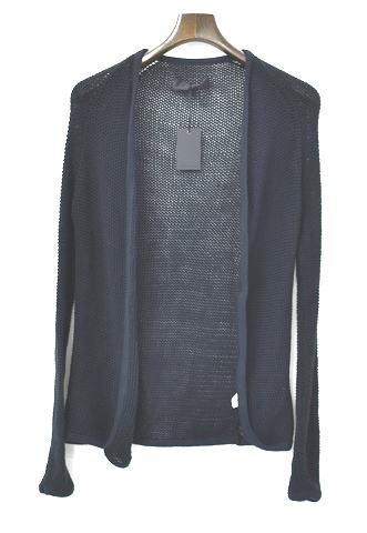 【新品】 CRUCE&Co. (クルーチェ アンド コー) Knit Cardigan ニットカーディガン ざっくり BLACK FREE