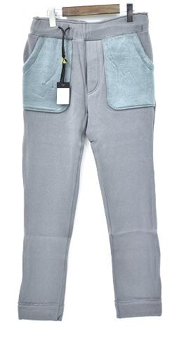 【新品】 CRUCE&Co. (クルーチェ アンド コー) C/F Jersey Pants ジャージーパンツ S Gray イージーパンツ スウェットパンツ
