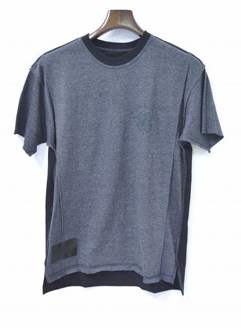 【新品同様】 IrregulaR by ZIP STEVENSON (イレギュラー バイ ジップスティーブンソン) REMAKE S/S TEE リメイクTシャツ T-SHIRT M GREY アメリカ製 SUNKIST サンキスト