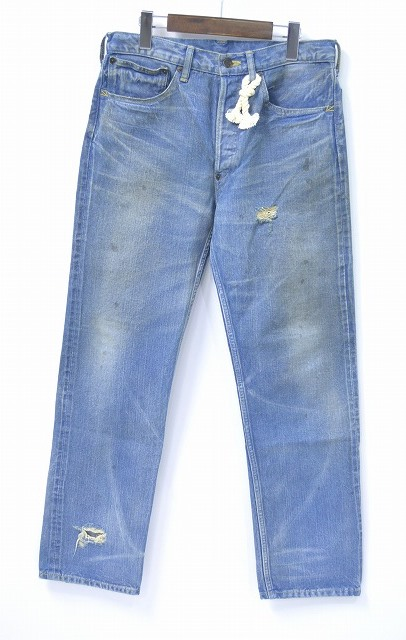 【中古】 SWAGGER(スワッガー) SELVEDGE DENIM PANTS