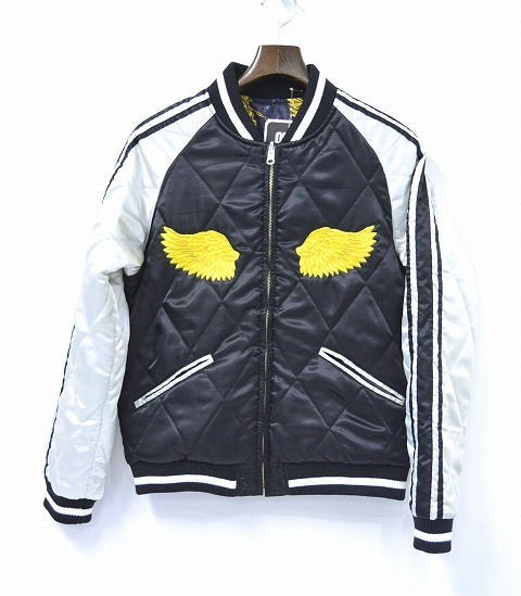 【新品】 SWAGGER (スワッガー)SOUVENIR JACKET SKA-JAN スーベニアジャケット スカジャン BLACK M