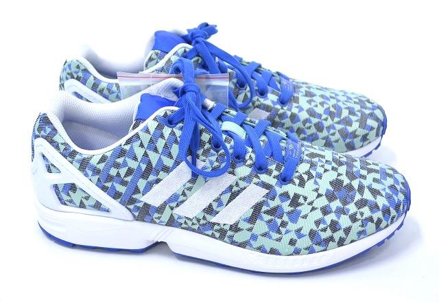 【新品】 adidas ORIGINALS (アディダス) ZX Flux Weave Shoes Blue (B34474) ゼットエックス ウェーブ BLUE×BLACK 10
