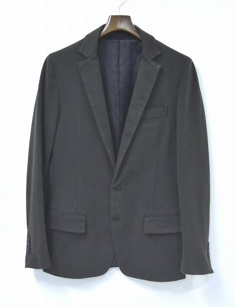 【中古】 DESIGNWORKS (デザインワークス) コットン2Bテーラードジャケット COTTON JACKET BLACK 46