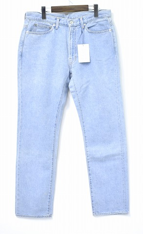【新品】 Mr. GENTLEMAN (ミスタージェントルマン) ORIGINAL DENIM PANTS オリジナルデニムパンツ MG-DE02 ジーンズ jeans MADE IN JAPAN ICE BUE 34 MISTERGENTLEMAN