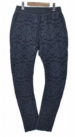 【新品】 DARTREM (ダートレム) DR17FW-SW13 SWEAT PANTS スウェットパンツ スエット MADE IN JAPAN BLACK 3 MELT DOWN PANTS