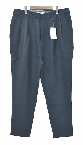 【新品】 MISTERGENTLEMAN (ミスタージェントルマン) MGL-TR10 WOOL MODERN PANTS ウールモダンパンツ 9分丈パンツ スラックス クロップド 丈 MADE IN JAPAN Mr.GENTLEMAN DARK GREEN XL