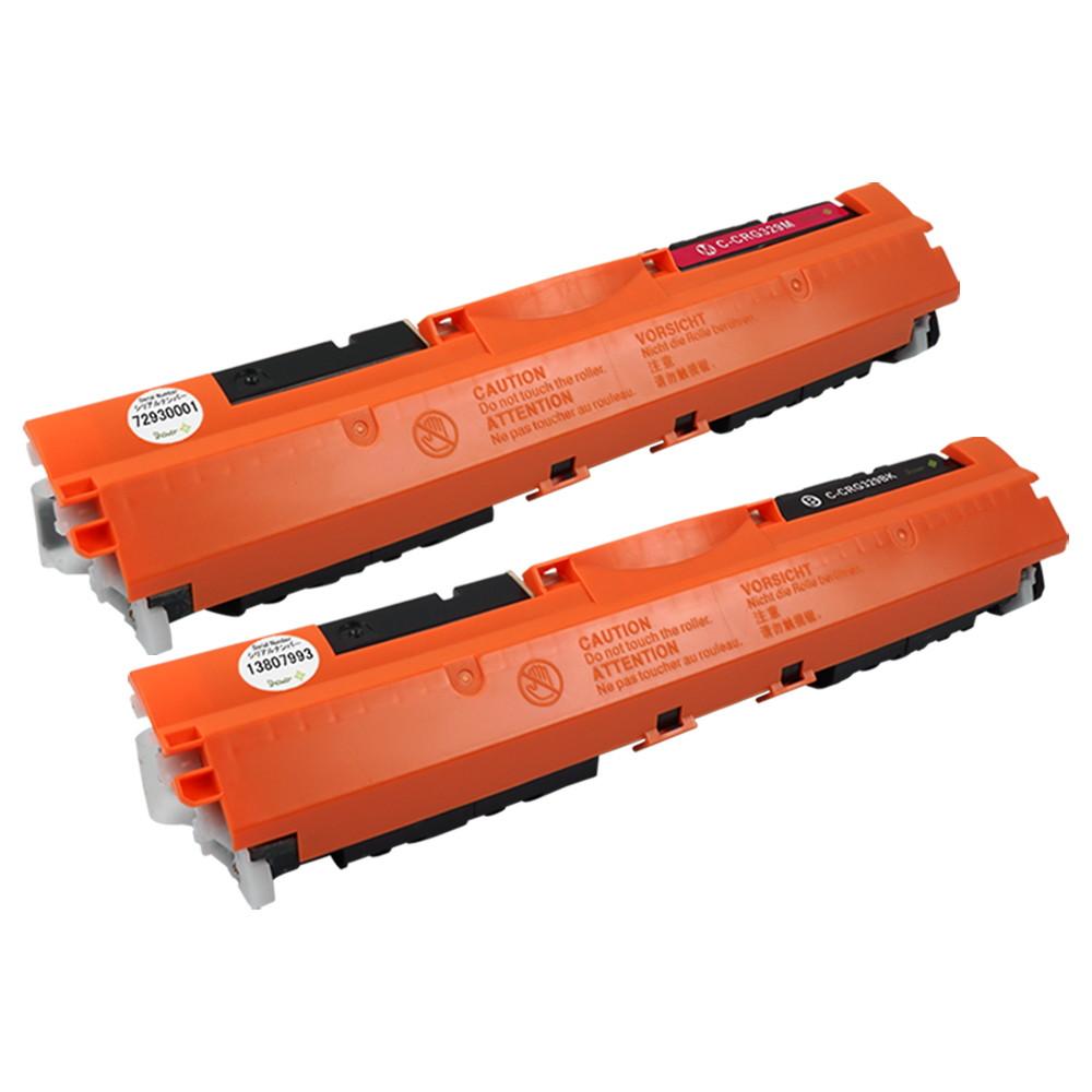 キヤノン用 互換トナーカートリッジ CRG-329 (BLK/MAG) 2色セット シリアルナンバー付 安心一年保証