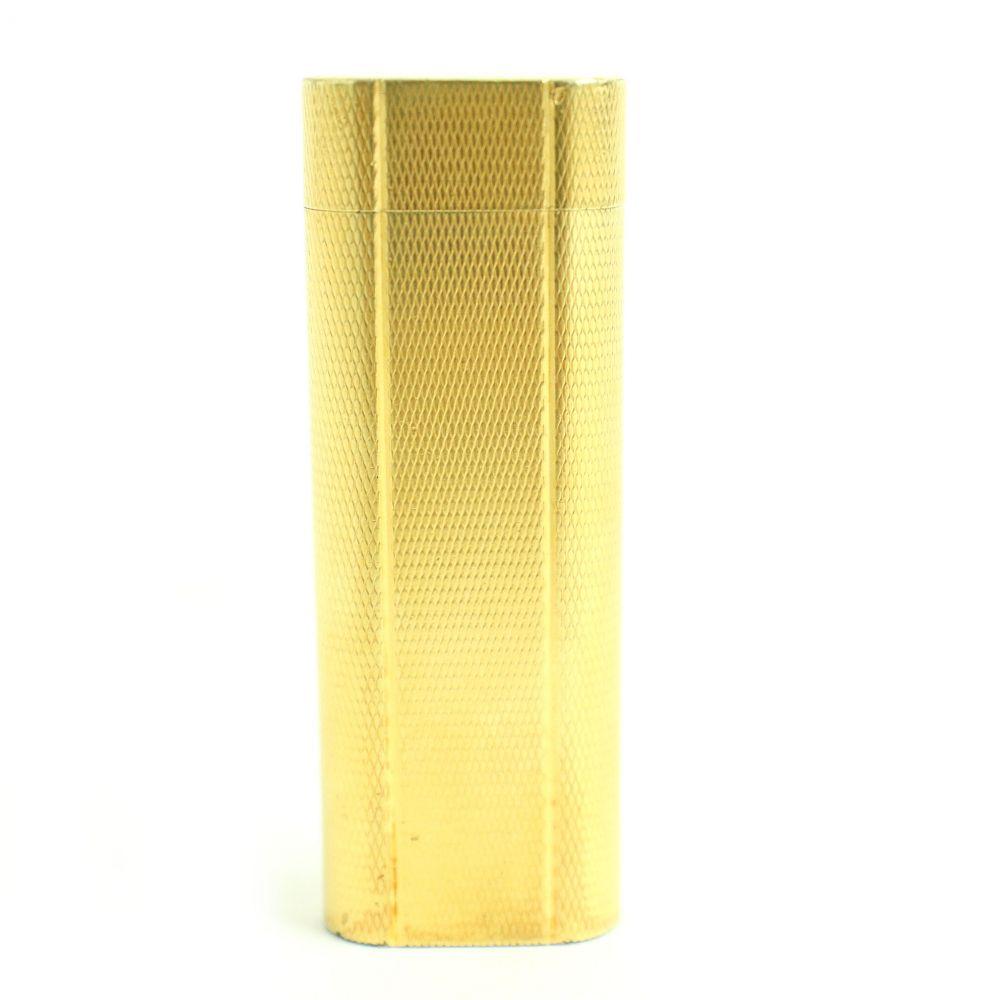 大流行中! 【】美品▽Cartier カルティエ オーバル ガスライター ゴールド 着火確認済み◎ メンズ レディース, ヒヨシチョウ d3f9fe60
