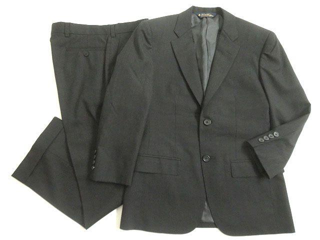 【中古】極美品▽1 BROOKS BROTHERS ブルックスブラザーズ オーダースーツ/シングルスーツ ダークグレー 正規品 ビジネスシーンなど◎