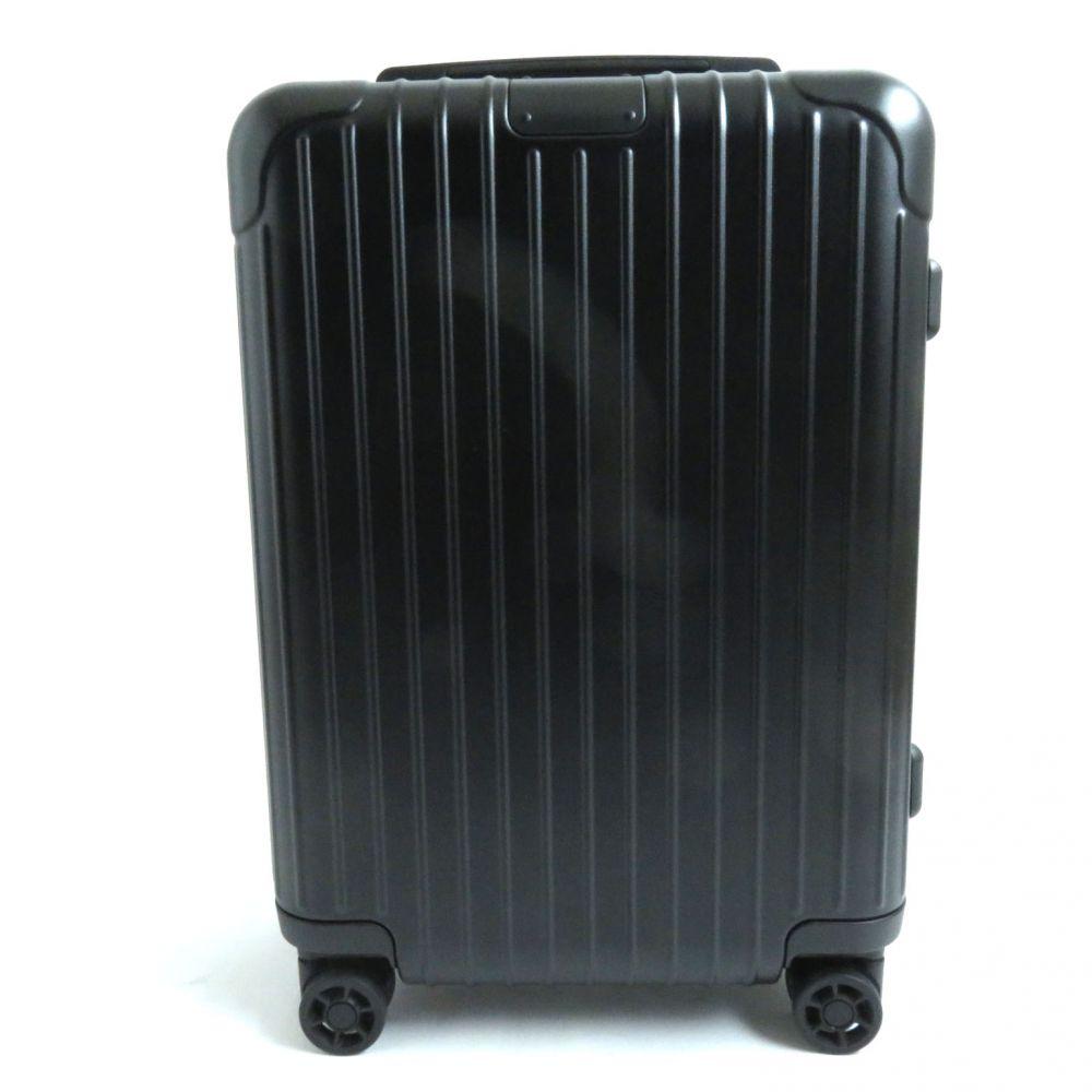 【中古】極美品●リモワ エッセンシャル キャビンS TSAロック搭載 スーツケース キャリー マットブラック 4輪 832.52.63.4 34L 機内持込可能