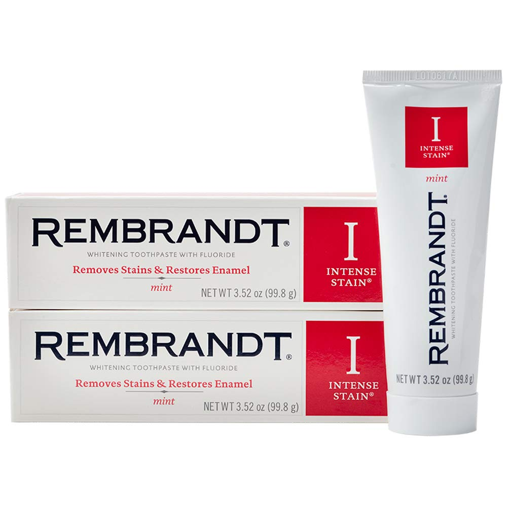 お得な2本セット レンブランツ インテンス 入手困難 ホワイトニング 歯磨き粉 99g 現金特価 Intense Toothpasteホワイトニング エクスプレス便 Whitening Stain Rembrandt
