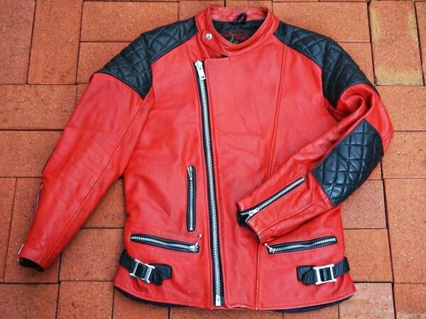 【USED】英国製 GRAND PRIX ライダースジャケット ビンテージ メンズ古着【EE025】【中古】