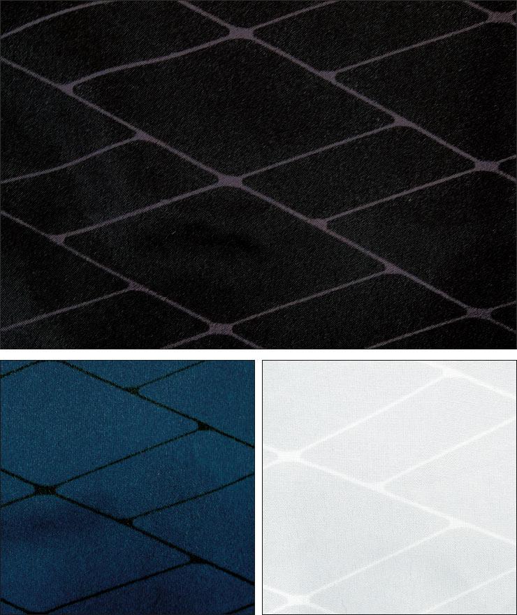 ファウンダースクラブ メンズ ゴルフウエア ダイヤ柄 フルジップ 半袖ブルゾン FC-0222A 2019年春夏モデル M-O