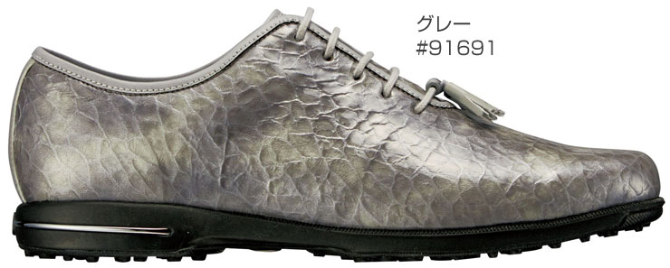 ... FJ tailored collection white white leather waterproofing nature leather  leather spikes reply for the FOOTJOY Lady s ... c8c2f658d61