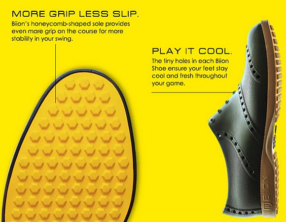 没有附带要点Up+折扣优惠券的经由盎斯梭子鱼的橡胶高尔夫球鞋
