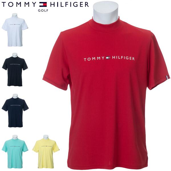 トミーヒルフィガー ゴルフ ウェア メンズ THロゴ モックネック 半袖シャツ THMA016 2020年春夏モデル M-XL 【あす楽対応】