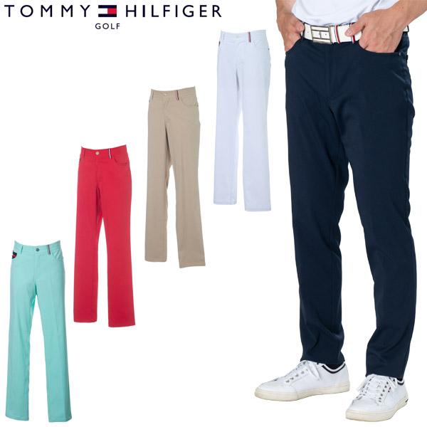 トミーヒルフィガー ゴルフ ウェア メンズ ストレート スタイル ロングパンツ THMA047 2020年春夏モデル M-XL 【あす楽対応】