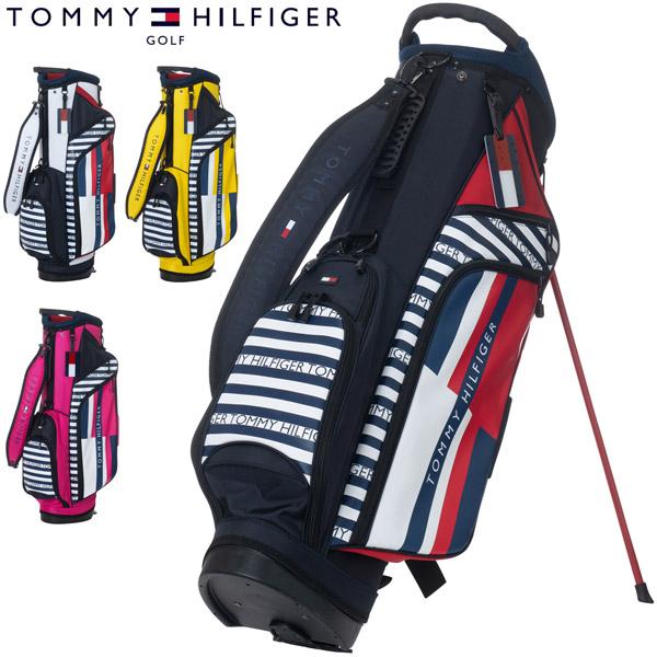 トミーヒルフィガー ゴルフ キャディバッグ THE TOMMY スタンドバッグ THMG0SC8