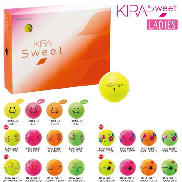 kasco ball ゴルフボール 新KIRAシリーズ KIRA Spin キラボール レディース LADIES 女性用 新マイクロバルーン フラワー 驚きの価格が実現 あす楽対応 フルキャラ トランプ SWEET キャスコ 花火 キャラ 新作通販 キラキャラ