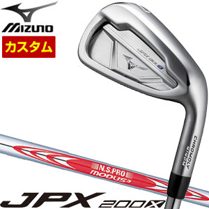 特注カスタムクラブ ミズノ JPX200X アイアン N.S. PRO MODUS3 TOUR 105 シャフト 4本セット[#7-P]