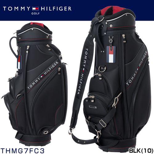 e64bce992a26 トミーヒルフィガーゴルフ TOMMY HILFIGER travel cart bag THMG7FC3 ◇ golf article golf bag  round article Caddie bag caddie bag black black