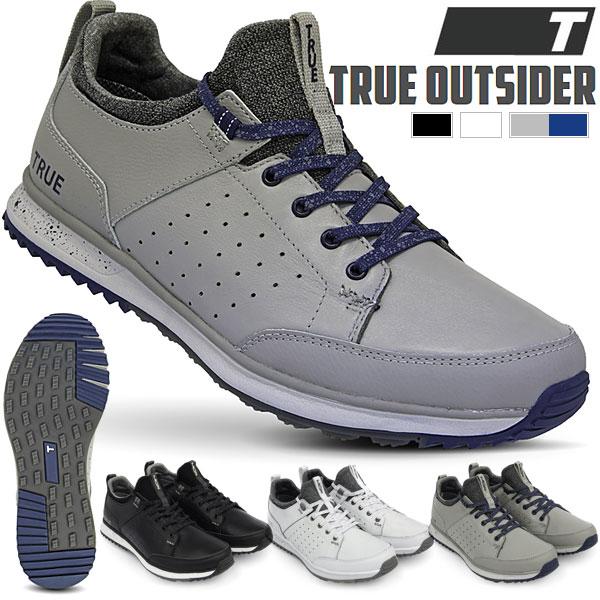 [セール]トゥルー リンクスウェア メンズ スパイクレス ゴルフシューズ OUTSIDER