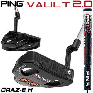 ピン VAULT 2.0 CRAZ-E H パター PING PP61 グリップ