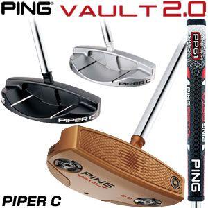 [クーポン使えます!] ピン VAULT 2.0 PIPER C パター PING PP61 グリップ