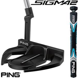 ピン SIGMA 2 Wolverine H パター PING PP60 グリップ 長さ調節機能付シャフト