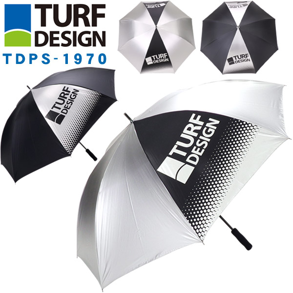 フィールドライフを楽しくする、あったらいいなをデザインする ターフデザイン ゴルフ傘 パラソル TDPS-1970