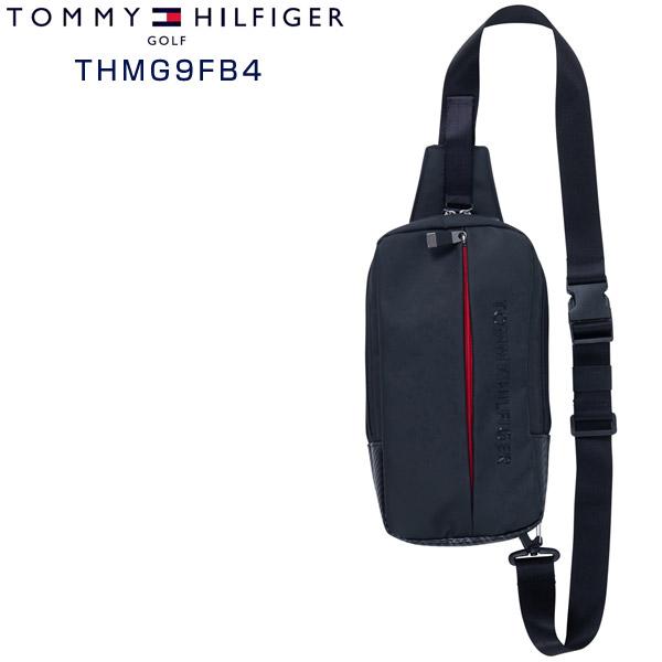 トミーヒルフィガー ゴルフ バッグ カーボントーン クロス ボディバッグ THMG9FB4