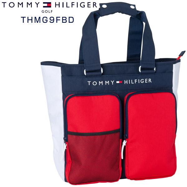 トミーヒルフィガー ゴルフ バッグ シグネチャー トートバッグ THMG9FBD