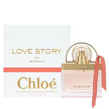 店内全品送料無料 Chloe クロエ 使い勝手の良い ラブストーリー オー センシュエル オードパルファム 30ML EDP CHLOE LOVE 香水 SP 気質アップ フレグランス SPRAY EAU SENSUELLE STORY