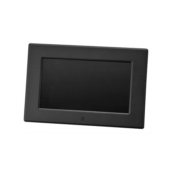 【送料無料・メーカー直販】 7インチ デジタルフォトフレーム(800*480) GH-DF7V-BK ブラック *SS