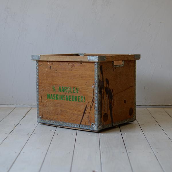 【デンマーク】【北欧ビンテージ家具】北欧家具 収納 スタッキング 組み合わせ インダストリアル 収納家具 大容量 木製ボックス 箱 ヴィンテージ キッチン パントリー ボックス 601D157B