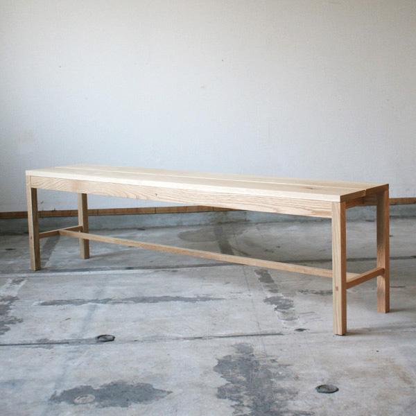 ワークベンチ Work Bench Solid オーク | ベンチ 二人掛け 三人掛け 無垢 無垢材 シンプル ナチュラル 北欧 おしゃれ 家具 インテリア 木製 ダイニング