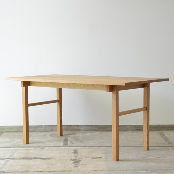 ダイニングテーブル 幅 150cm 奥行き 80cm 高さ 72cm オーク | テーブル dining table 無垢 無垢材 無垢材オーク シンプル ナチュラル 北欧 おしゃれ 天板 家具 インテリア 木製 木 リビング カフェ カフェ風
